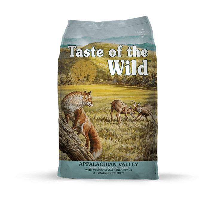 Taste Of The Wild Appalachian Valley Small Breed Venado Y Garbanzos